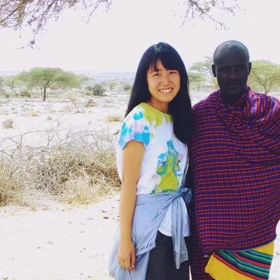 タンザニアでチャイルドケア&地域奉仕活動 和氣礼佳